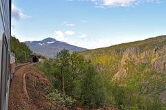 βόρειο trainride της Νορβηγίας στοκ εικόνες με δικαίωμα ελεύθερης χρήσης