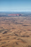 βόρειο uluru εδαφών βράχου ayers τη& στοκ φωτογραφία με δικαίωμα ελεύθερης χρήσης