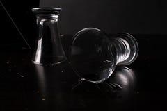 βότκα γυαλιού Στοκ φωτογραφίες με δικαίωμα ελεύθερης χρήσης