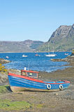βότσαλο παραλιών plockton Στοκ φωτογραφία με δικαίωμα ελεύθερης χρήσης