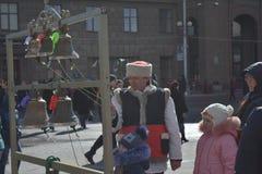 Βόλγκογκραντ, Maslenitsa 2017 στοκ εικόνες