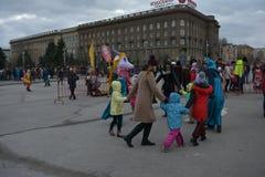 Βόλγκογκραντ, Maslenitsa 2017 Στοκ εικόνες με δικαίωμα ελεύθερης χρήσης