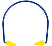 Βύσματα προστασίας αυτιών στοκ φωτογραφία