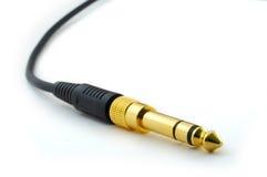 βύσμα ακουστικών στοκ φωτογραφίες