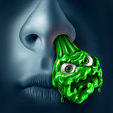 Βλέννα Snot απεικόνιση αποθεμάτων