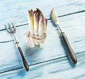 Βλαστοί του άσπρου σπαραγγιού Στοκ φωτογραφία με δικαίωμα ελεύθερης χρήσης