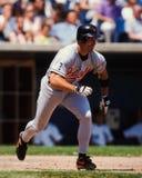 Β J Surhoff, Baltimore Orioles Στοκ Εικόνες