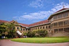 Β teak Wong παλάτι στη Μπανγκόκ, Ταϊλάνδη Στοκ εικόνα με δικαίωμα ελεύθερης χρήσης