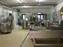 γάλα βιομηχανίας Στοκ Φωτογραφίες