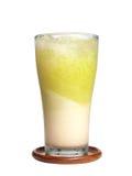 Γάλα και φυτικός χυμός Στοκ Φωτογραφίες