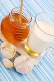γάλα μελιού Στοκ Εικόνα