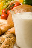 γάλα τροφίμων σύνθεσης 2 ψω&m στοκ φωτογραφίες με δικαίωμα ελεύθερης χρήσης