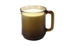 γάλα φλυτζανιών Στοκ Εικόνες