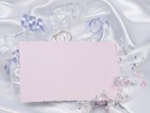 γάμοι κειμένων καρτών εξαρ&tau Στοκ Φωτογραφίες