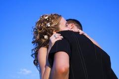 γάμος αγκαλιάσματος ζε& Στοκ εικόνες με δικαίωμα ελεύθερης χρήσης