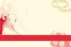 γάμος ανασκόπησης Στοκ Εικόνες