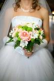 γάμος ανθοδεσμών Στοκ Φωτογραφίες