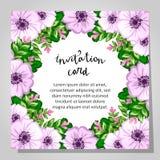 γάμος απεικόνισης καρτών αφαίρεσης Στοκ Φωτογραφία