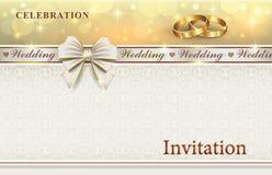 γάμος απεικόνισης καρτών αφαίρεσης Στοκ Εικόνες