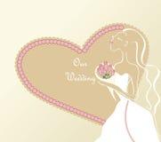 γάμος απεικόνισης Στοκ εικόνες με δικαίωμα ελεύθερης χρήσης