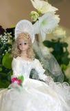 γάμος αριθμού κέικ νυφών Στοκ Εικόνες