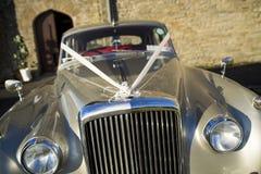 Γάμος αυτοκινήτων αυτοκίνητο αναδρομικό Στοκ Εικόνα