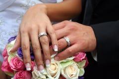 Γάμος δαχτυλίδι-1 Στοκ Φωτογραφία