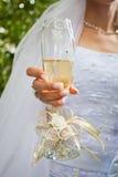 γάμος γυαλιού Στοκ Φωτογραφίες