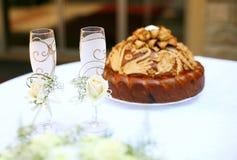 γάμος γυαλιών Στοκ εικόνες με δικαίωμα ελεύθερης χρήσης