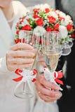 γάμος γυαλιών Στοκ φωτογραφία με δικαίωμα ελεύθερης χρήσης
