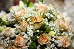 γάμος δαχτυλιδιών λουλ Στοκ Εικόνες