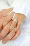 γάμος δαχτυλιδιών Στοκ Εικόνες