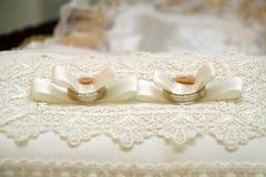 γάμος δαχτυλιδιών Στοκ εικόνα με δικαίωμα ελεύθερης χρήσης