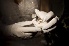 γάμος δαχτυλιδιών Στοκ Φωτογραφία