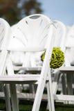 γάμος εδρών τελετής Στοκ Εικόνες