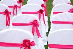 γάμος εδρών στοκ φωτογραφία με δικαίωμα ελεύθερης χρήσης