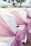 γάμος εδρών Στοκ Εικόνες