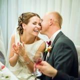 γάμος δεσμών κοσμήματος κρυστάλλου λαιμοδετών ζευγών Στοκ φωτογραφίες με δικαίωμα ελεύθερης χρήσης