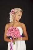 Γάμος, ευτυχής νεαρός άνδρας και εορτασμός γυναικών Στοκ Φωτογραφία
