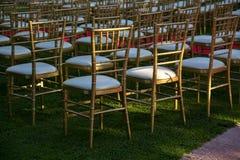γάμος εδρών στοκ εικόνα