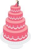 γάμος κέικ Στοκ εικόνες με δικαίωμα ελεύθερης χρήσης