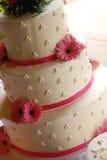 γάμος κέικ Στοκ Φωτογραφία