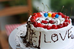 γάμος κέικ Στοκ Εικόνες