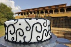 γάμος κέικ disply Στοκ εικόνα με δικαίωμα ελεύθερης χρήσης