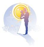 γάμος καρτών Ελεύθερη απεικόνιση δικαιώματος
