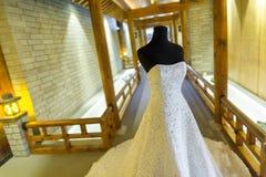 γάμος κατάταξης τεμαχίων φορεμάτων Στοκ φωτογραφίες με δικαίωμα ελεύθερης χρήσης
