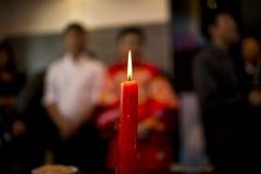Γάμος κινεζικός-ύφους στοκ εικόνα