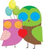 Γάμος κινούμενων σχεδίων βαλεντίνων γέννησης αγάπης Ελεύθερη απεικόνιση δικαιώματος