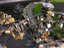 γάμος κλειδωμάτων Στοκ Φωτογραφία