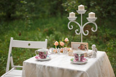 γάμος κορδελλών πρόσκλησης λουλουδιών κομψότητας λεπτομέρειας διακοσμήσεων ανασκόπησης Όμορφος πίνακας για μια ρομαντική ημερομην Στοκ φωτογραφία με δικαίωμα ελεύθερης χρήσης
